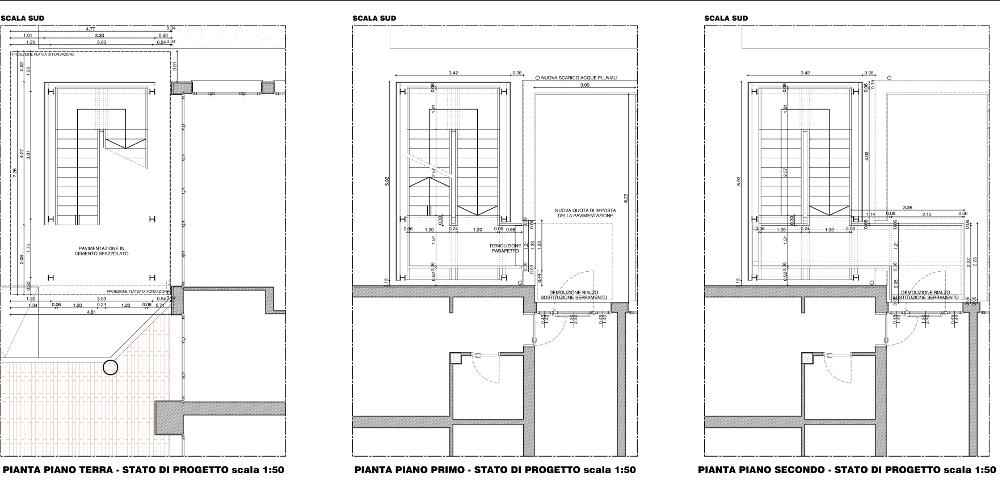 Casa Di Riposo Scale Di Sicurezza Studio Tecnico Associato Gruppo13